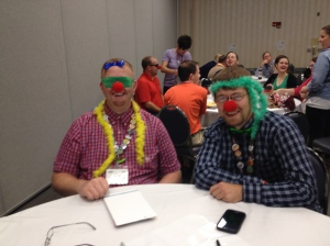 At one of my workshops at KidMin Conference... we love to have fun!